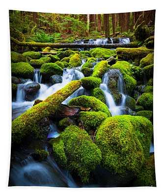 Rainforest Magic Tapestry
