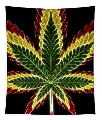 Rasta Marijuana Tapestry