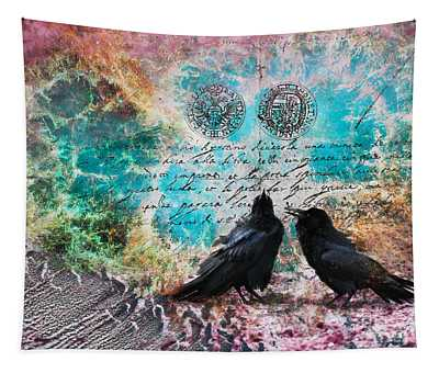 Crow Whispers In The Nowhere Tapestry