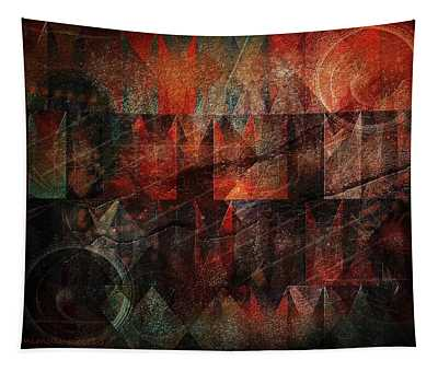 Raw Emotions Tapestry