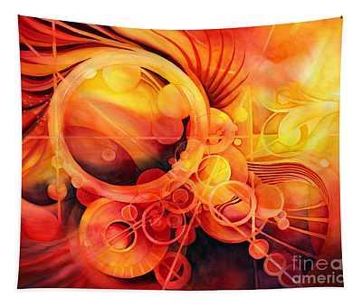 Rebirth - Phoenix Tapestry