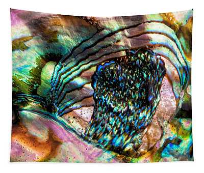 Red Abalone Tapestry
