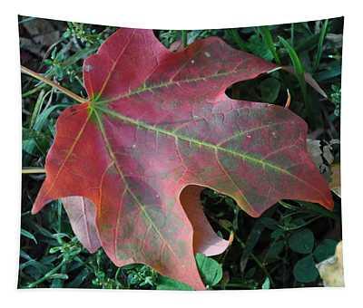 Red Leaf Tapestry
