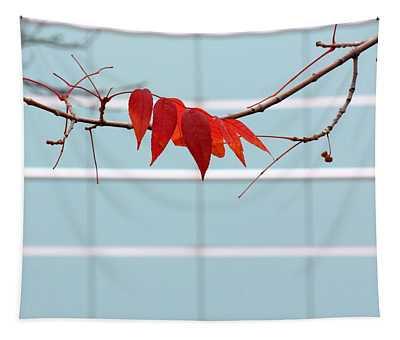 Red Leaves Tapestry