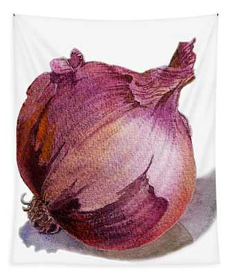 Red Onion Tapestry