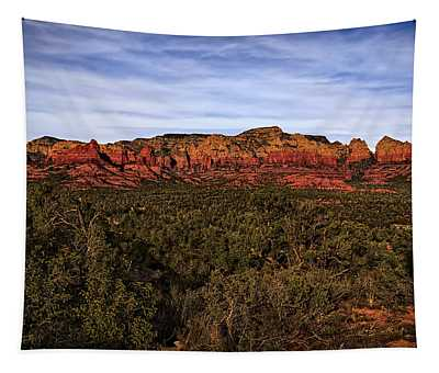 Red Rock Golden Hour 26 Tapestry