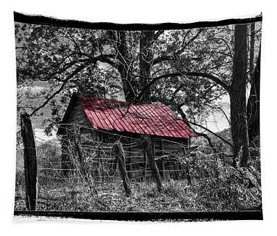 Red Roof Tapestry
