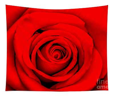 Red Rose 1 Tapestry