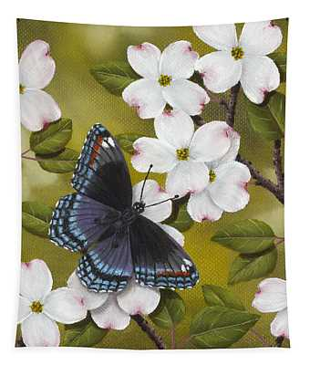 Red Spotted Purple Tapestry