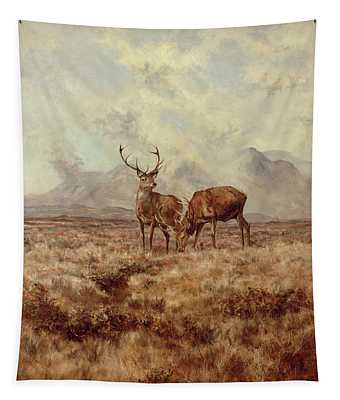 Red Stags, Ben Buie Tapestry
