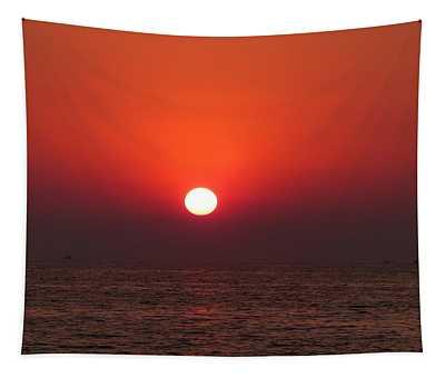 Playa La Ropa Sunset Tapestry