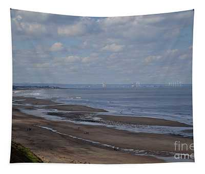 Redcar From A Distance Tapestry