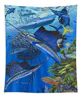 Reef Frenzy Off00141 Tapestry