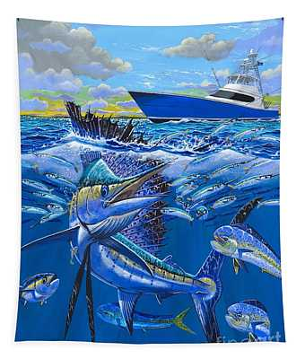 Reef Sail Off00151 Tapestry