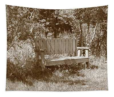 Reflecting Bench Tapestry