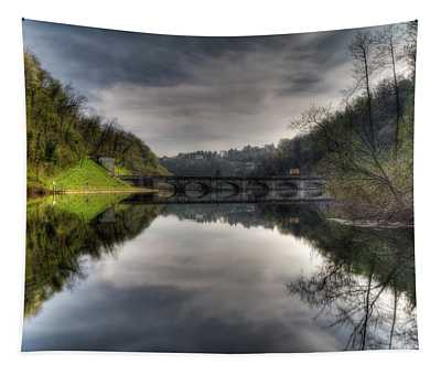 Reflections On Adda River Tapestry