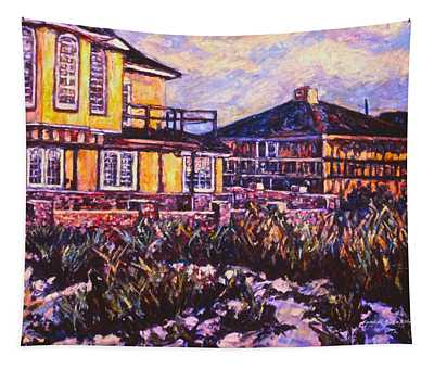 Rehoboth Beach Houses Tapestry