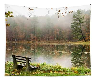 Tapestry featuring the photograph Relaxing Autumn Beauty Landscape by Christina Rollo