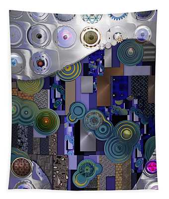 Remodern Dream Abstractor  Tapestry
