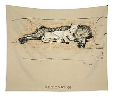 Resignation, 1930, 1st Edition Tapestry