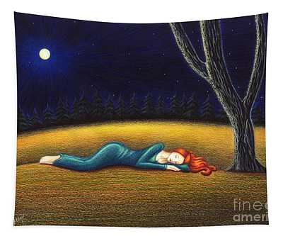 Rest For A Weary Heart Tapestry