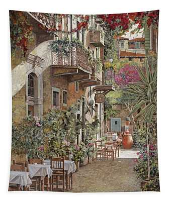 Rethimnon-crete-greece Tapestry
