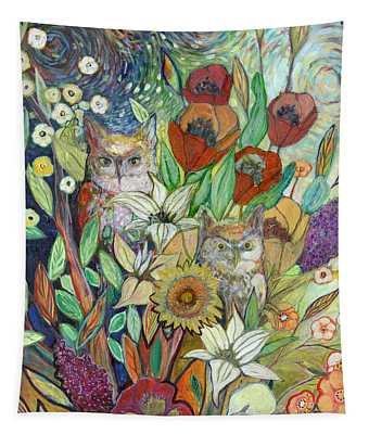 Returning Home To Roost Tapestry