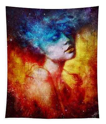 Galaxies Digital Art Wall Tapestries