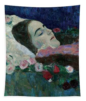 Ria Munk On Her Deathbed Tapestry