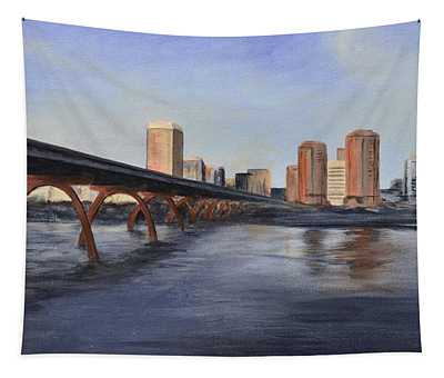 Richmond Virginia Skyline Tapestry