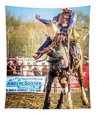 Ride 'em Cowboy Tapestry