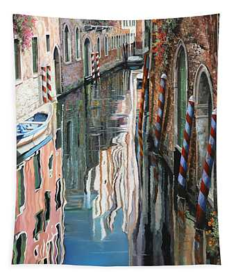 Riflessi Colorati A Venezia Tapestry