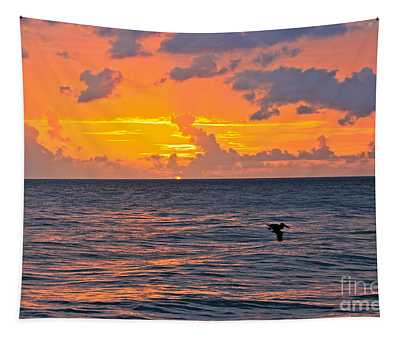 Rincon Sunset Tapestry
