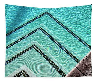 Ripple Effect Palm Springs Tapestry