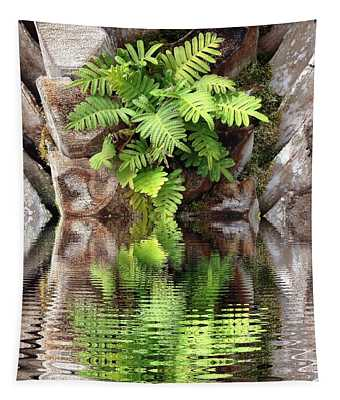 Ripples And Reflection Tapestry