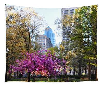 Rittenhouse Square In Springtime Tapestry