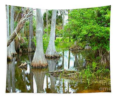 River Bend Lake Tapestry