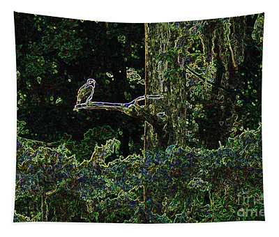 River Bird Of Prey Tapestry