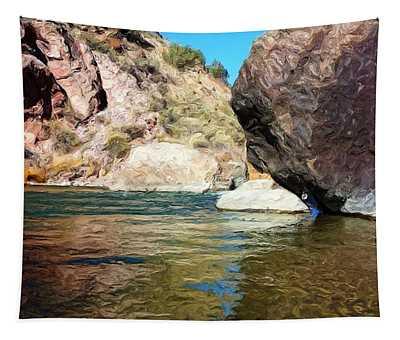 River Rock Tapestry