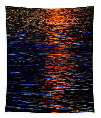 River Sunset Tapestry