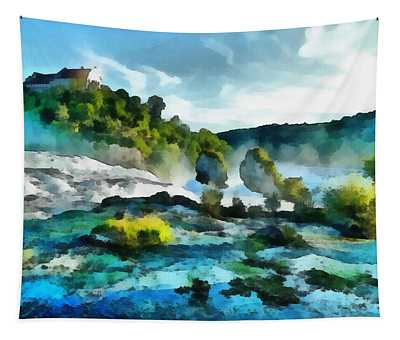 Riverscape Tapestry