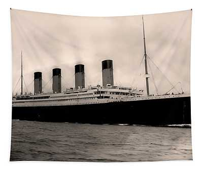Rms Titanic Tapestry
