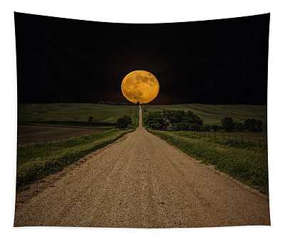 Moon Wall Tapestries