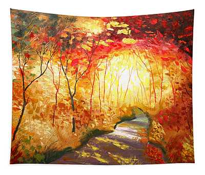 Road To The Sun Tapestry