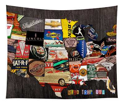 Road Trip Usa American Love Affair With Cars And The Open Road Tapestry