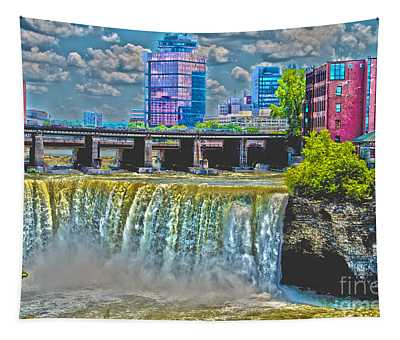 Rochester High Falls Tapestry