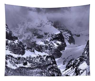 Grand Teton Mountains In Winter Tapestry