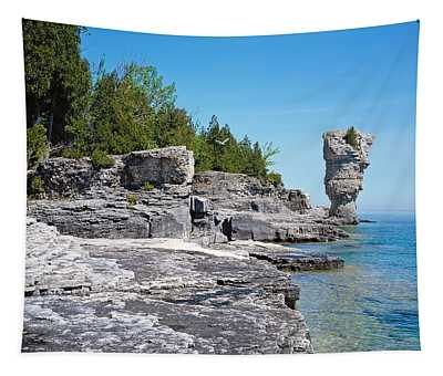 Rock Formations, Bruce Peninsula Tapestry