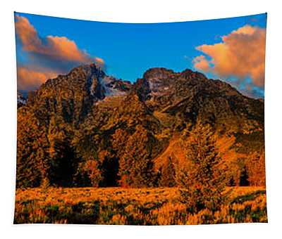 Rock Of Ages Panorama Tapestry