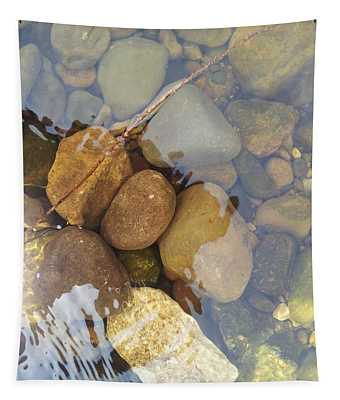 Rocks And Pebbles 2 Tapestry